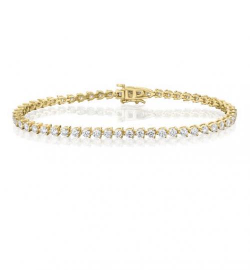 צמיד טניס יהלומים bd010