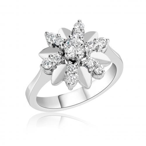 טבעת יהלומים מעוצבת RDR016