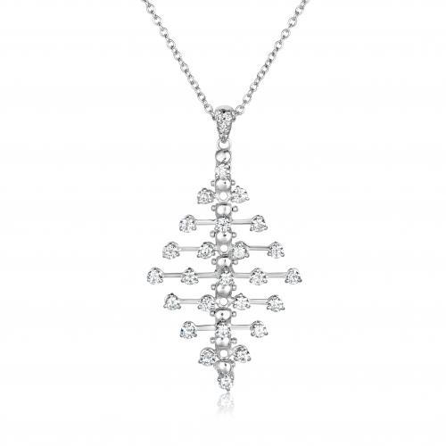 תליון יהלומים בעיצוב איטלקי