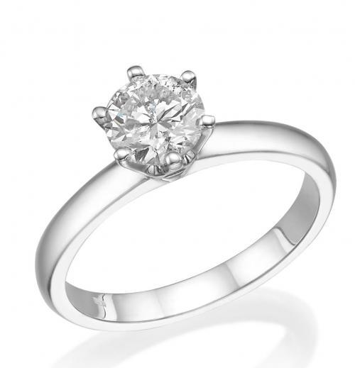 טבעת יהלום אירוסין A016