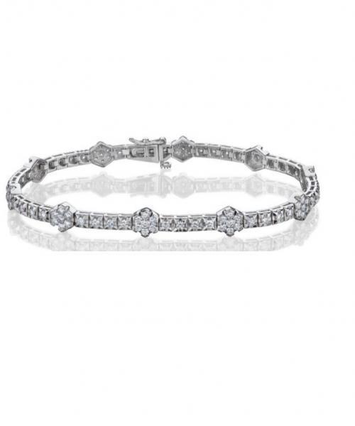 צמיד טניס יהלומים bd011