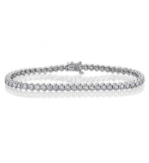 צמיד טניס יהלומים bd012