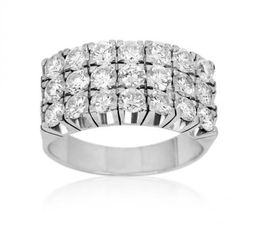 טבעת יהלומים מעוצבת RDR011