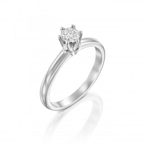 טבעת יהלום אירוסין A035