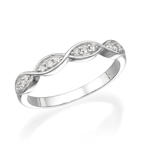 טבעת יהלומים מעוצבת RDR003