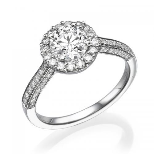 טבעת יהלום הלואר -1.01 קרט