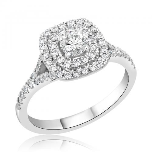 טבעת יהלום אירוסין A025