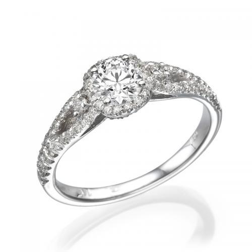 טבעת יהלום אירוסין - כליל
