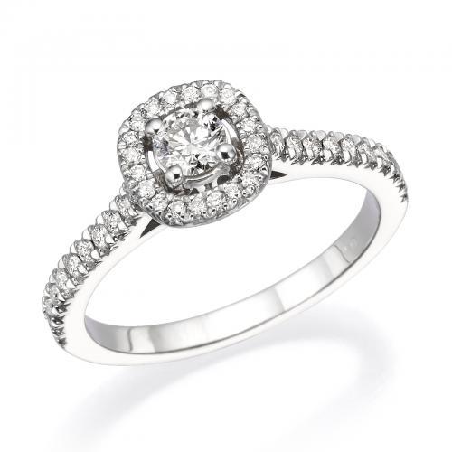 טבעת יהלום אירוסין A021