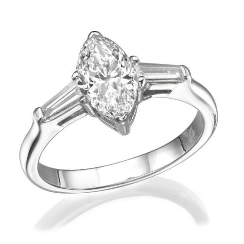 טבעת יהלום מרכיזה