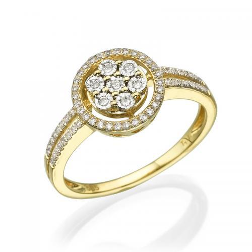 טבעת יהלום אירוסין - ברצלונה