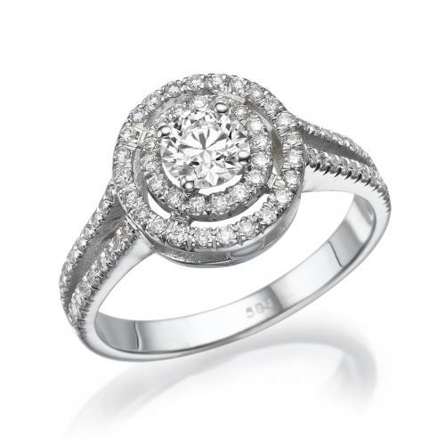 טבעת יהלום אירוסין  -פריז
