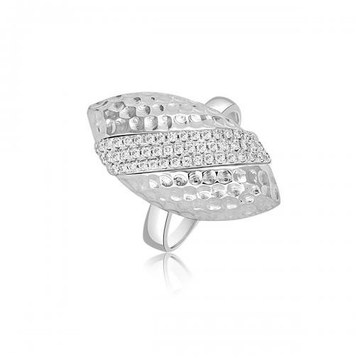 טבעת יהלומים מעוצבת RDR026