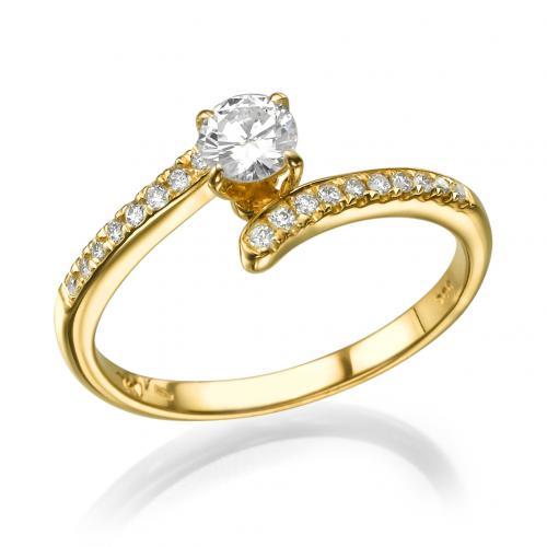 טבעת אירוסין -סוויט יהלום