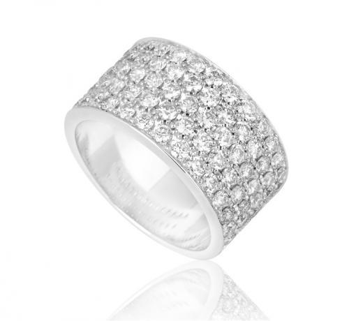 טבעת יהלומים מעוצבת RDR009