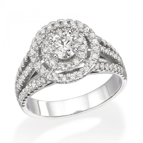 טבעת יהלום אירוסין A020