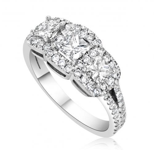 טבעת יהלומים מעוצבת RDR002