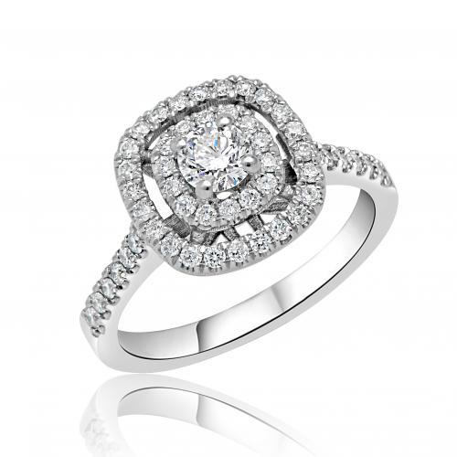 טבעת יהלום קלאסי A002