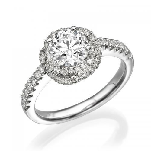 טבעת יהלום מרסיי - 1.01 קרט