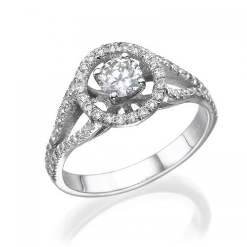טבעת יהלום אירוסין- גולן