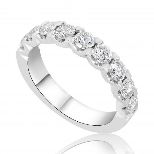 טבעת יהלומים טניס